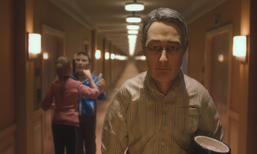 Michael passes a bickering, albeit identical, couple in Charlie Kaufman's Anomalisa. Credit: Everett/Rex/Shutterstock.